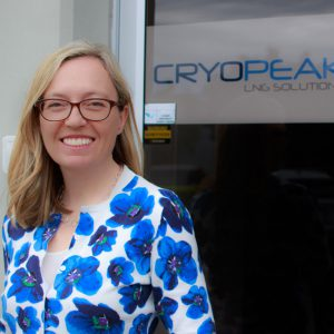 Jackie Hesketh CFO - Cryopeak