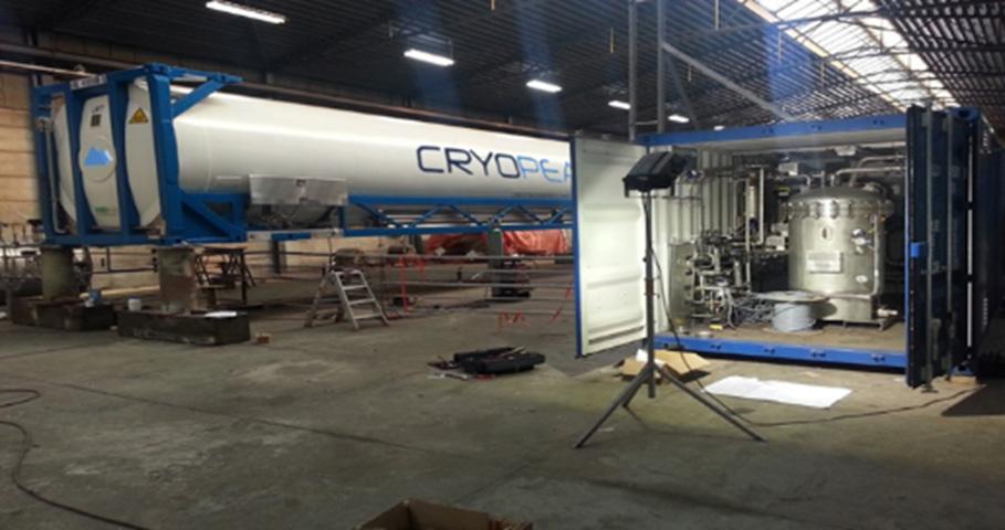 LNG equipment - Cryopeak