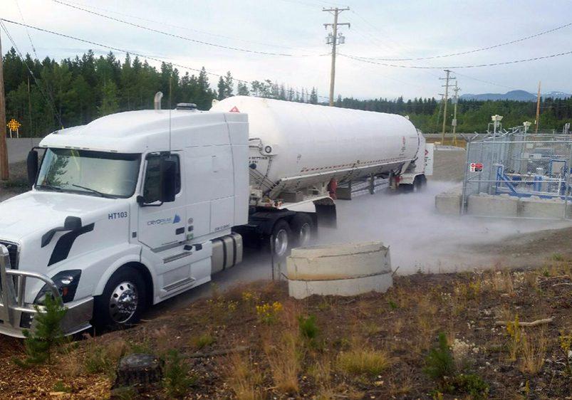 Cryopeak LNG Anahim Delivery